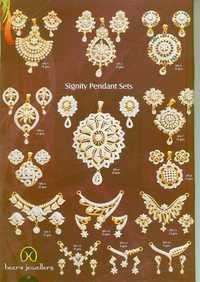 Designer Gold Pandents