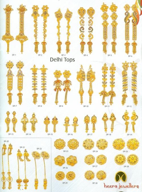 Golden Delhi Tops