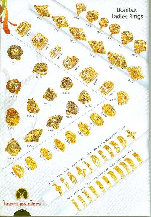 Golden Ladies Rings