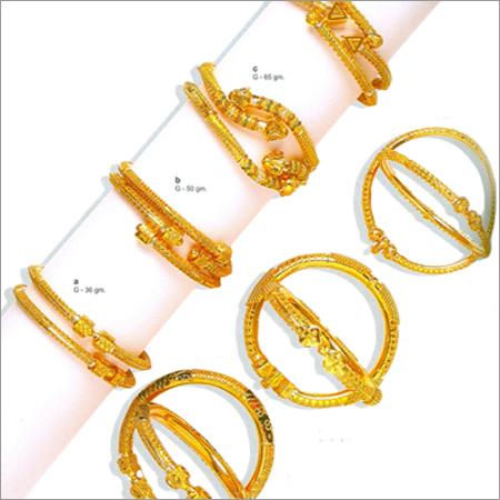 Decorative Gold Bangles