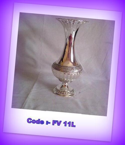 Silver Flower Vases