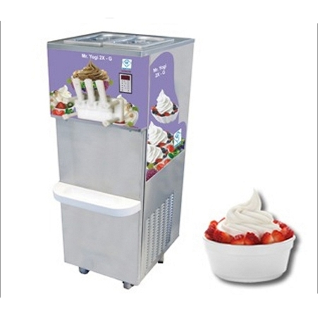 2 + 1 Flavour Frozen Yogurt Machine - Floor
