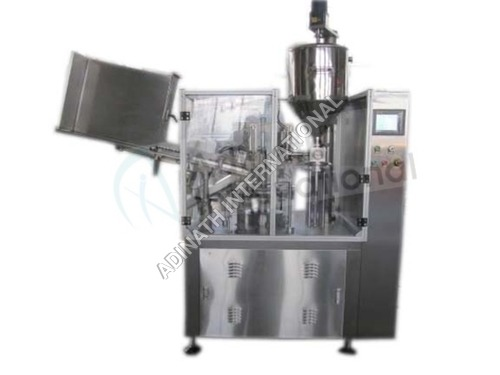 Tube Filling, Crimping & Batch Coding Machine