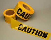 Printed Caution Tape