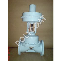 PTFE Lined Pneumatic Actuator Operated Diaphragm V