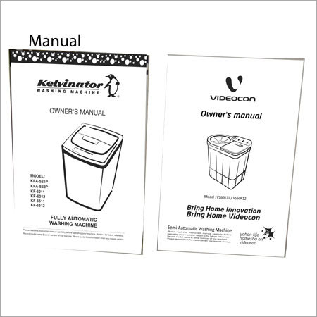 Manual Printing Services