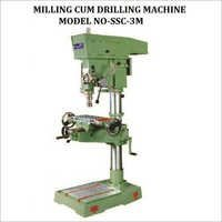 40mm Cap Pillar Drilling Cum Milling Machine