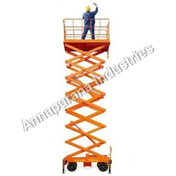 Multi Scissor High Rise Lift TAble