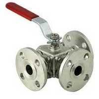 3 Way Ball Valve Flange