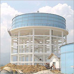 Construction Over Head Tank