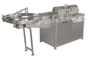 Automatic Inveter Type Air Jet Bottle Cleaning Machine