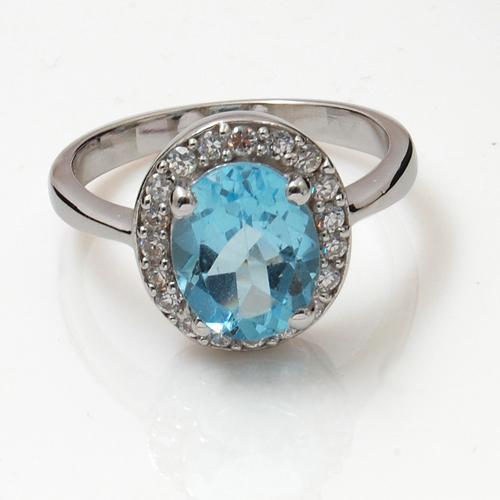 925 silver finger ring real silver rings swarovsk