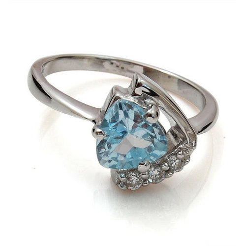sterling silver wave ring colored stone silver ring ring silver 925