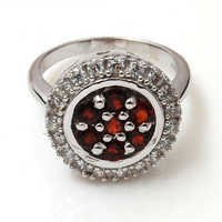 silver 925 rings 925 sterling silver pink gemstone rings handmade silver rings