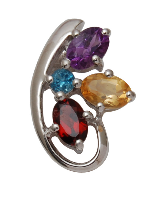 silver & gold ring silver multicolored ring gold