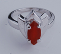 mexican silver rings mens sterli, silver ruby ring