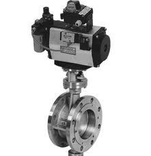 buterfly valve with actuator