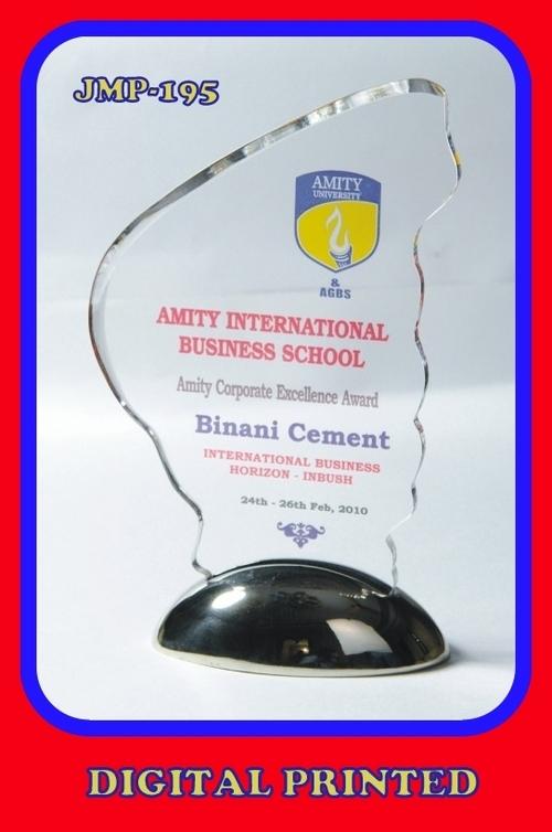 Acrylic Trophy with Digital Printing