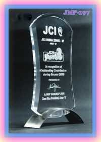 Colour Acrylic Trophy