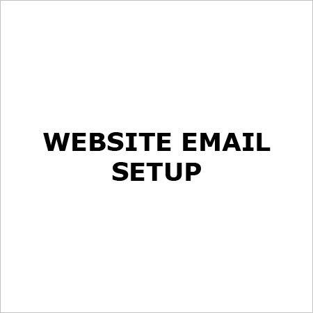 Website Email Setup