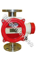 Metal Tube Rotameter With Alarm