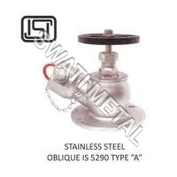 Stainless Steel Oblique Fire Hydrant Valve