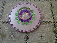 Joena Mirror Floating Rangoli