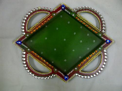 DIAMOND TRAY WITH RING