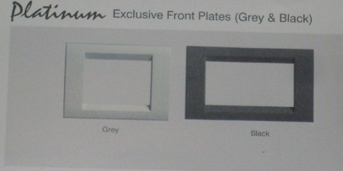 crabtree exclusive front plates
