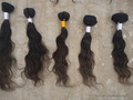 Virgin Brazilian Wavy Machine Weft