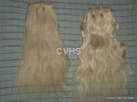 Platinum Blonde Machine Weft