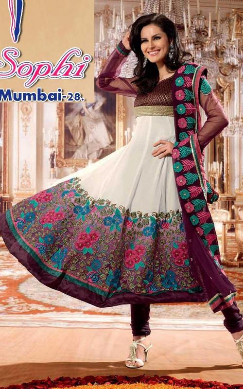 SHADED ANARKALI