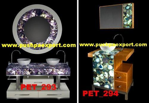 Semi Precious Stone Counter and Frame