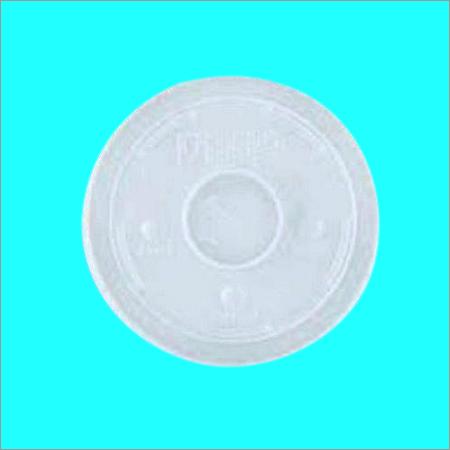 Plastic lid 82 mm milky lid