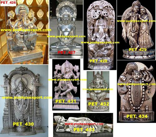 Carved Wooden God Statue