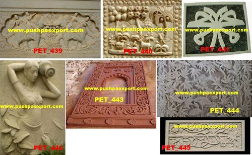 Marble Carved Panels