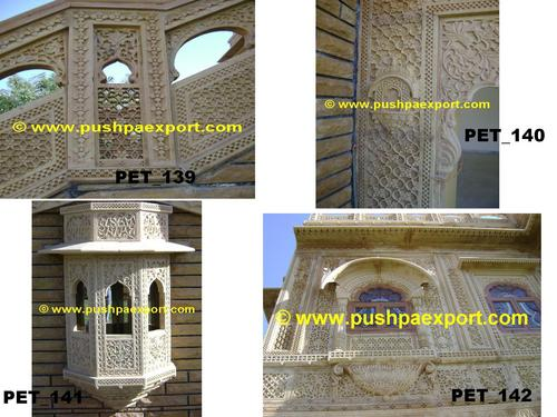 Marble Carved Wall Panel