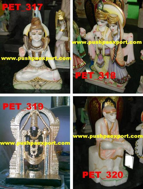 Marble Carved God Statue