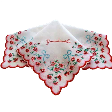 Personalized Embroidered Hanky