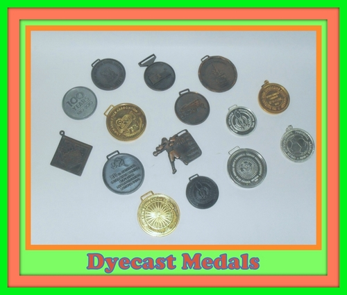 Dye Casting Medals