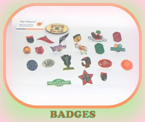 Badges and Medals