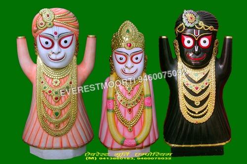 Jagannath, Subhadra & Balabhadra Idols