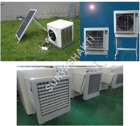 Solar Desert Air Cooler