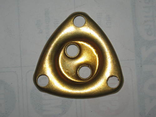 Cup Brass Triangular 2 Hole (18 SWG)