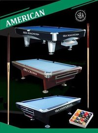 9' American Pool Table(SBA Magnum)