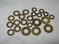 Brass Warshers Size-M/3, M/4, 3/16, 1/8