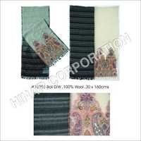 Boil Wool Embroidered Shawls