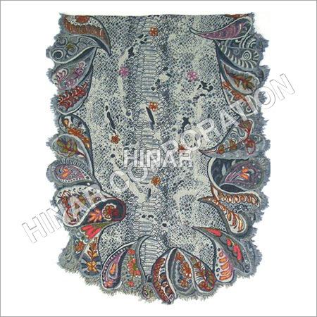 Wool Fancy Embroidery Shawl