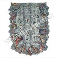 Designer Wool Embroidery Shawls