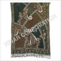 Boil Wool Jamawar Shawls With Embroidery